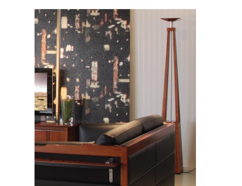 Art Deco Bink vloerlamp