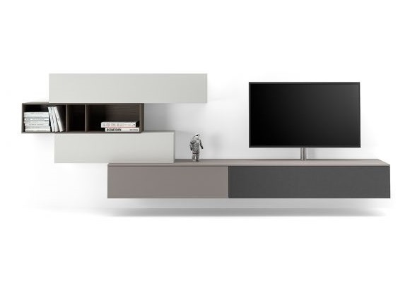 Hangende Tv Kast : Spectral next hangend tv dressoir spectral tv meubels