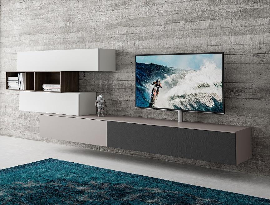 Spectral Next modern hangend tv meubel