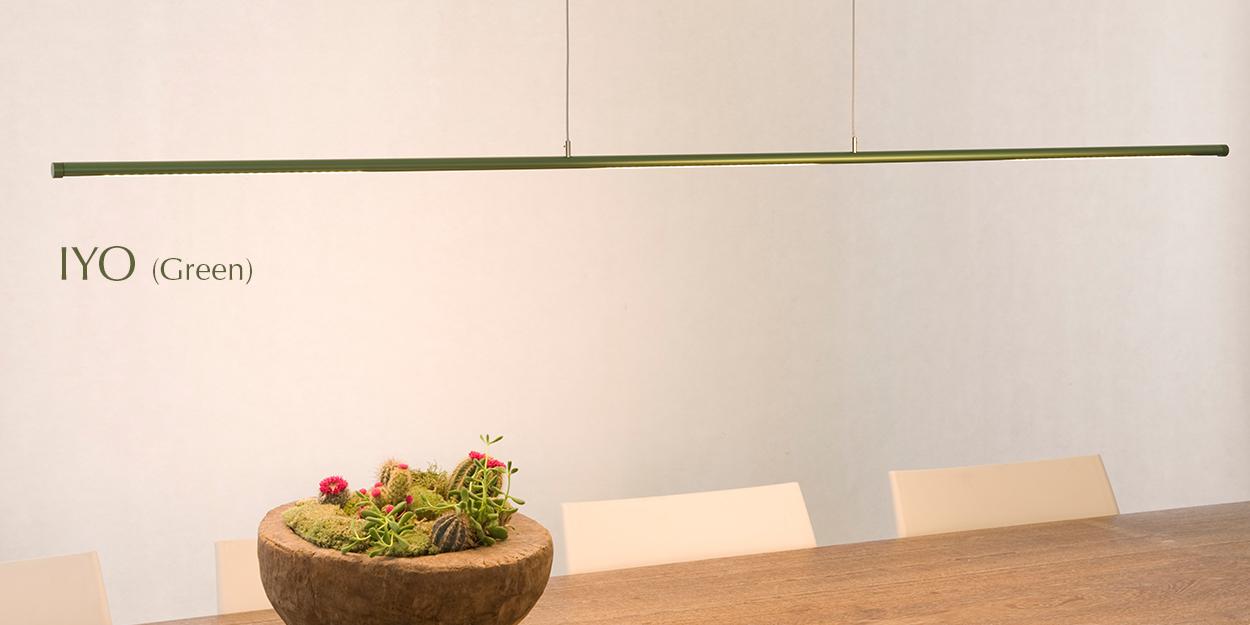 FERROLIGHT IYO Yin Yang green | Hoogebeen Interieur