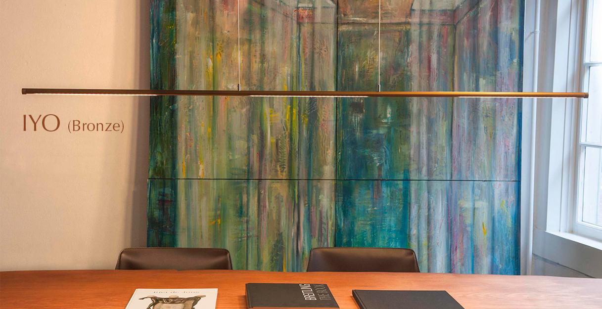 FERROLIGHT IYO Yin Yang bronze | Hoogebeen Interieur