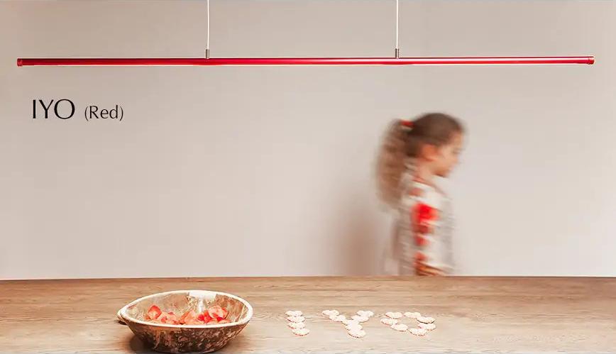 FERROLIGHT IYO Yin Yang red | Hoogebeen Interieur