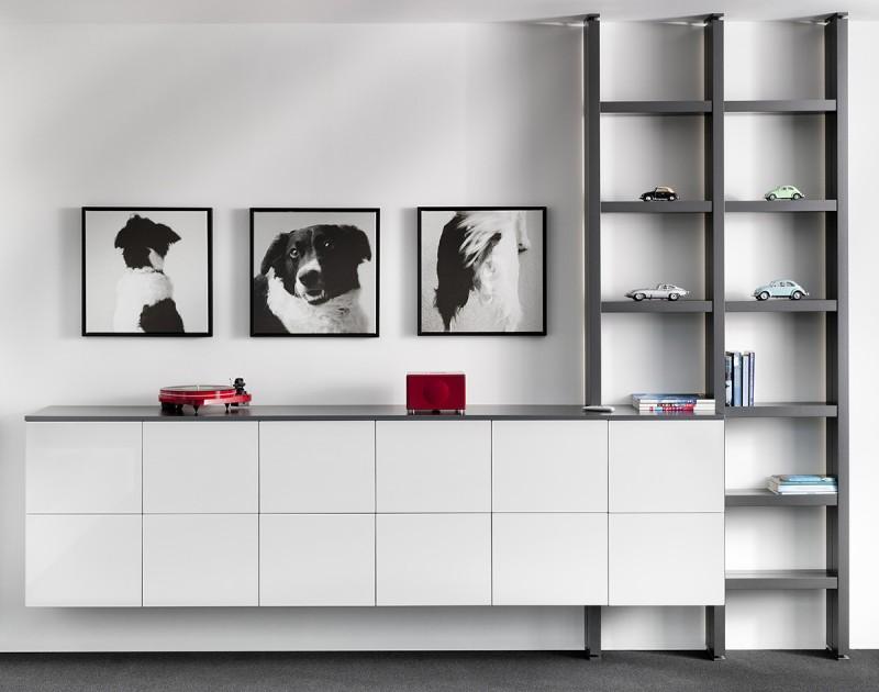 Interstar moderne boekenkast | Interstar meubelen Wandkasten