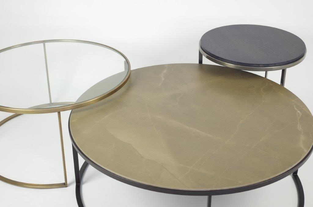 Ronde salontafels keramiek