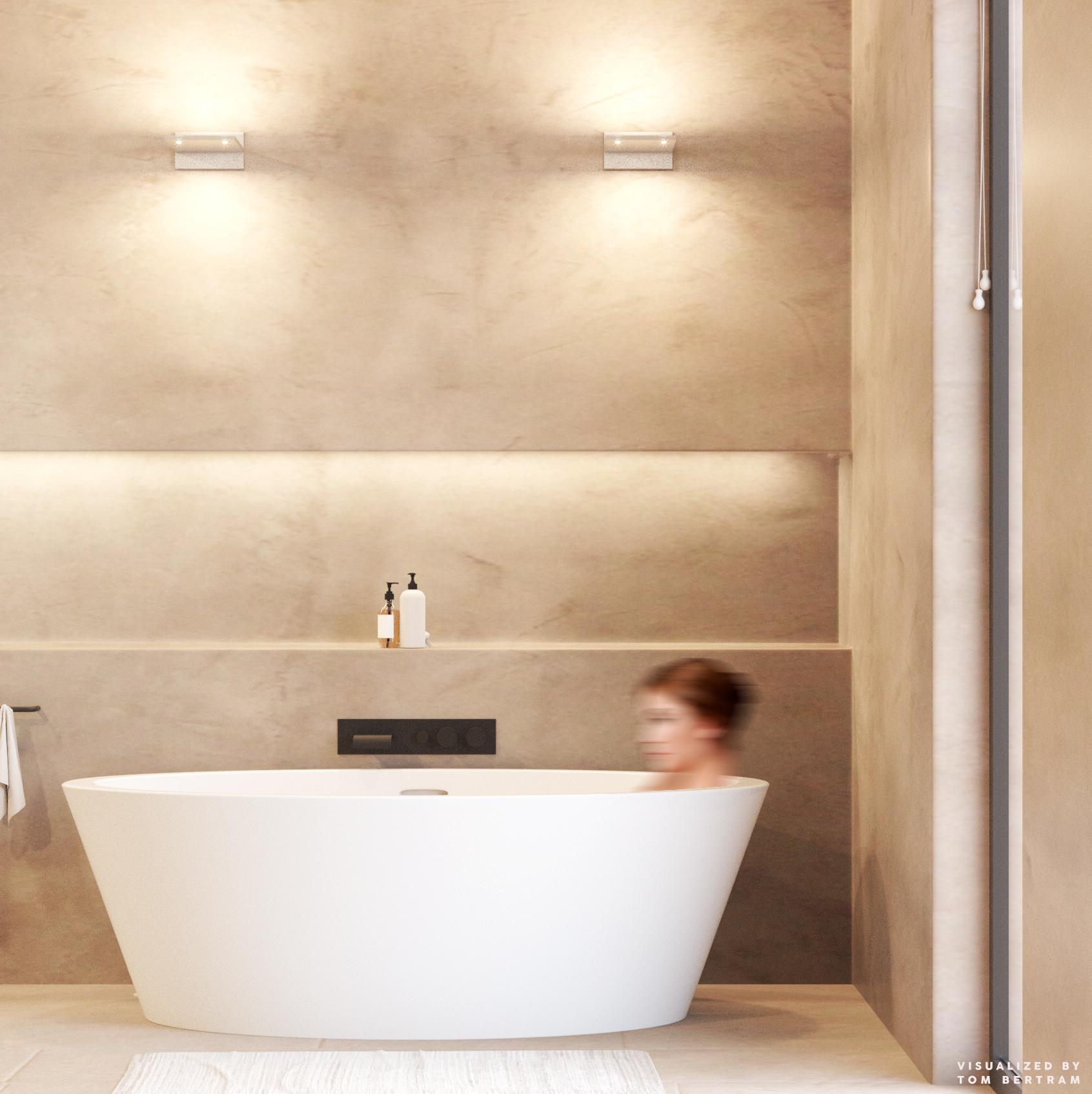 PIXEL Wall Basic FERROLIGHT impressie   Hoogebeen Interieur