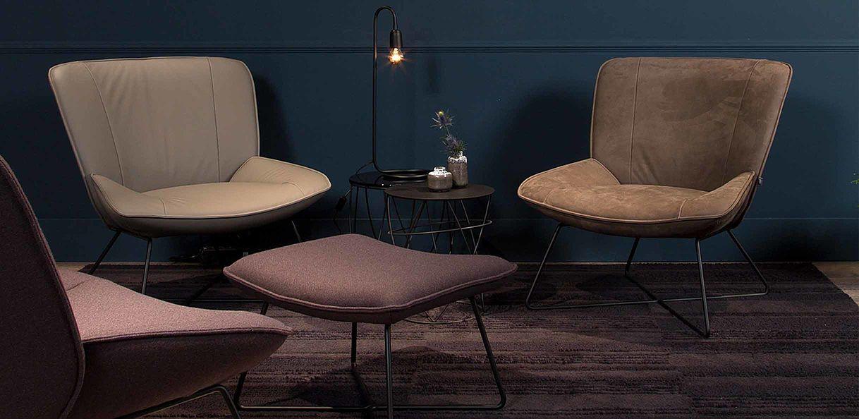 Rolf Benz 383 fauteuil sfeer