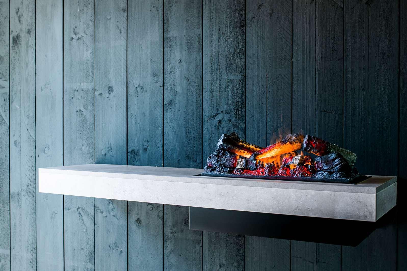 Faber Concrete Shelf elektrische haard