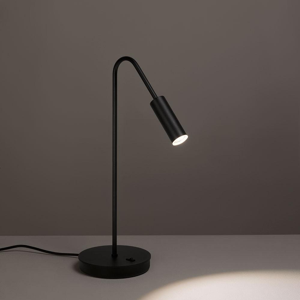 Estiluz Volta tafellamp zwart