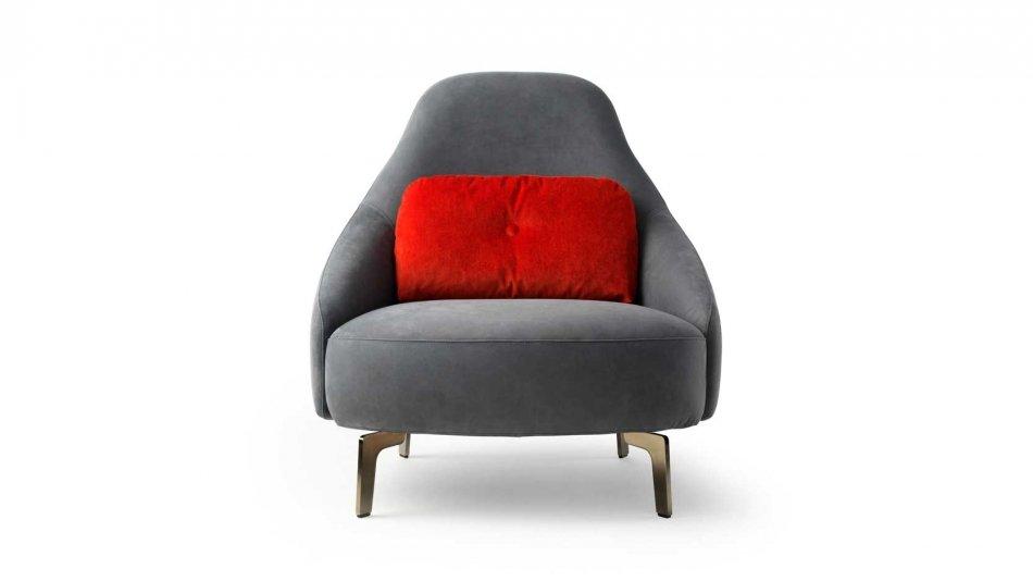 Leolux Jill fauteuil voorzijde