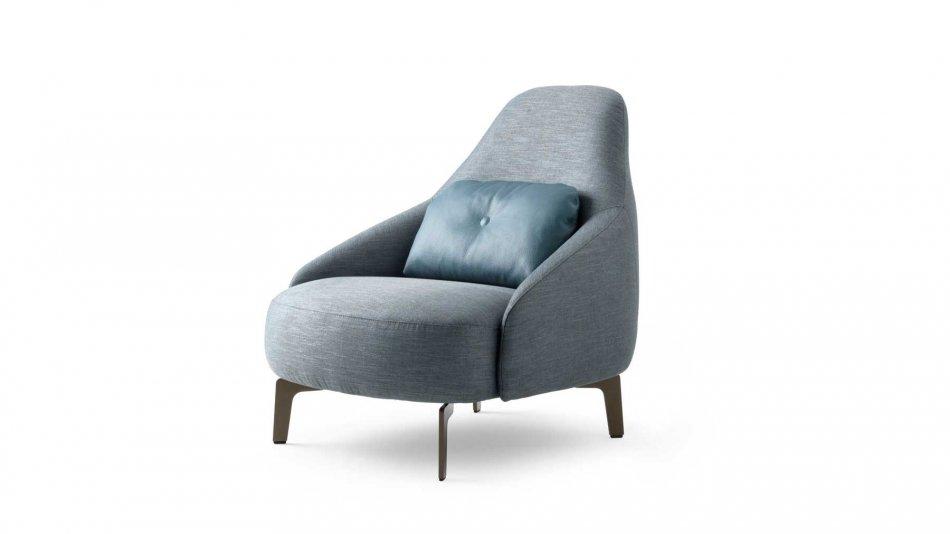 Leolux Jill fauteuil stof