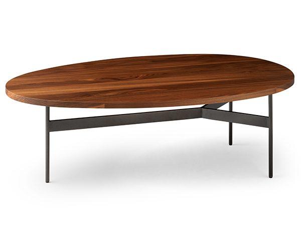 Leolux Tampa salontafel hout