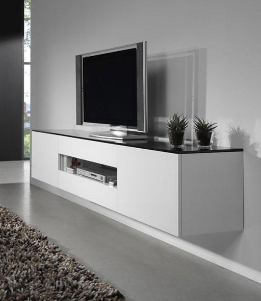 Hangend Tv Meubel Hoogebeen Interieur