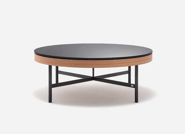 Rolf Benz 8290 salontafel mat glas