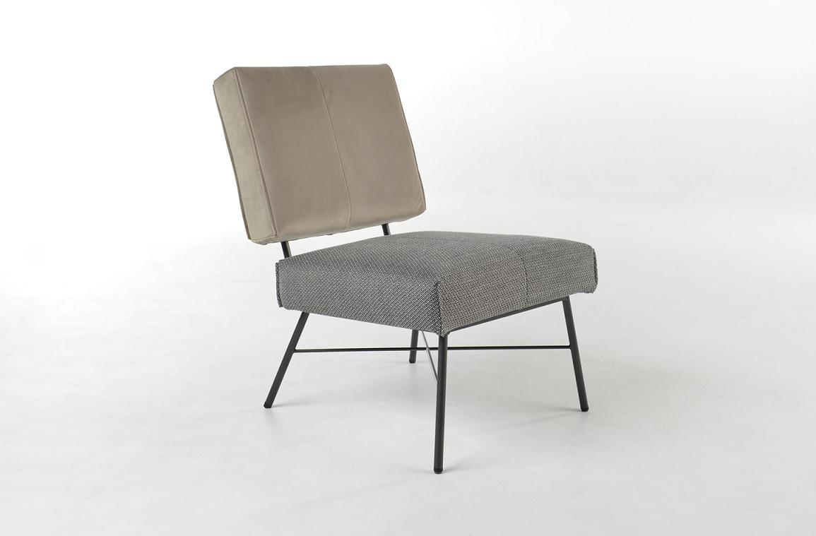 Bert Plantagie Brown Lotus fauteuil