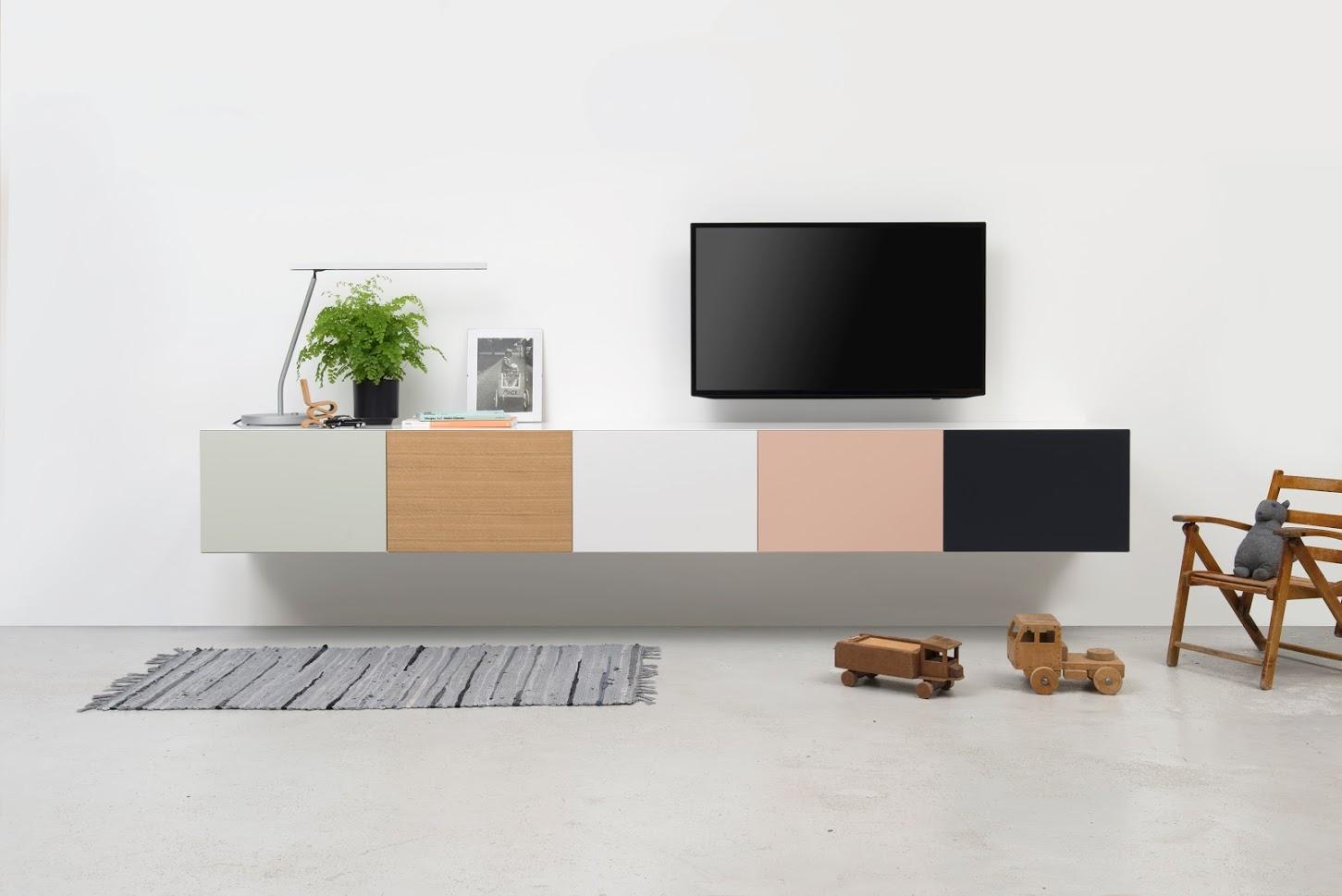 Pastoe Vision zwevend tv dressoir