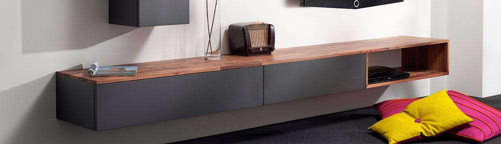Hangend TV-meubel | Hoogebeen Interieur