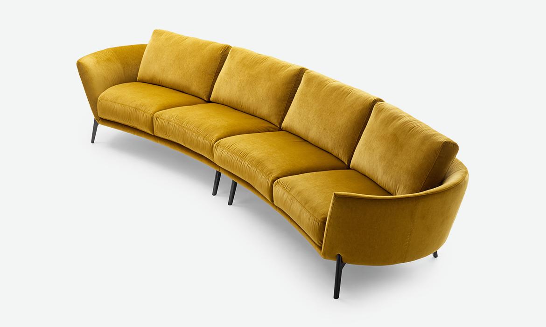 Leolux ronde design bank Rego