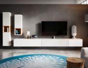 Saunaco Cas tv dressoir zwevend