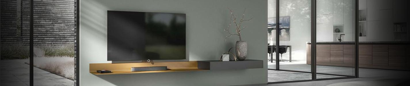 Spectral Ameno white zwevend tv meubel Banner Image