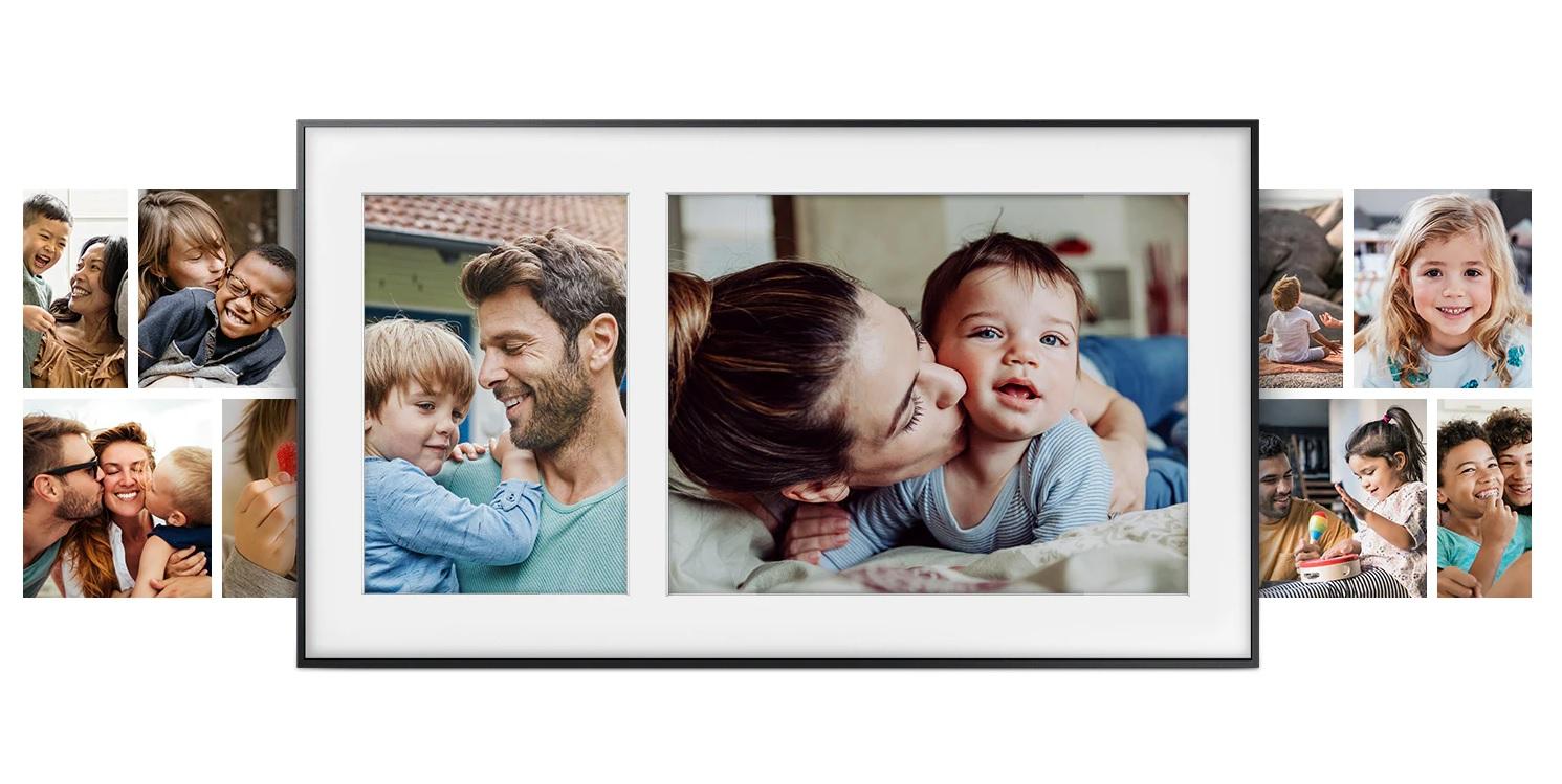 Samsung The Frame TV portret