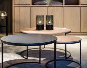 BKS Aurora ronde salontafels metaal