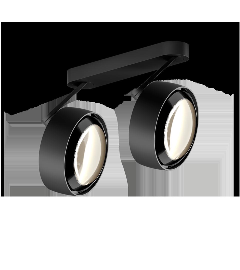 Più alto 3d doppio Occhio Matte Black   Hoogebeen Interieur