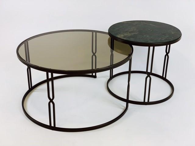 Select Design Luxor salontafel glas