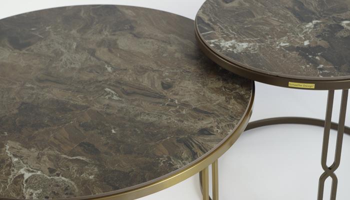 Select Design Luxor salontafel keramiek frappuccino