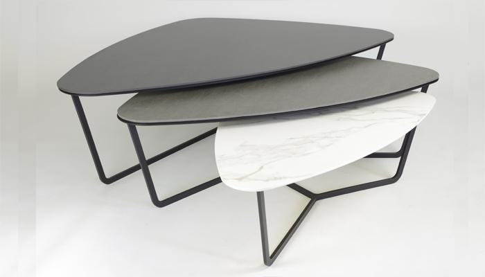 Select design Ypsilon keramiek salontafel