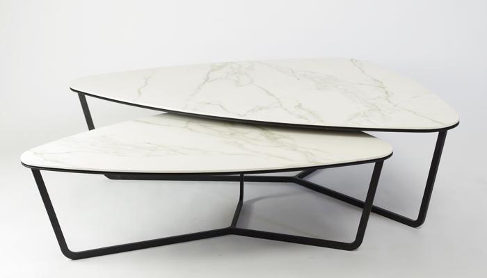 Select design Ypsilon salontafel wit keramiek