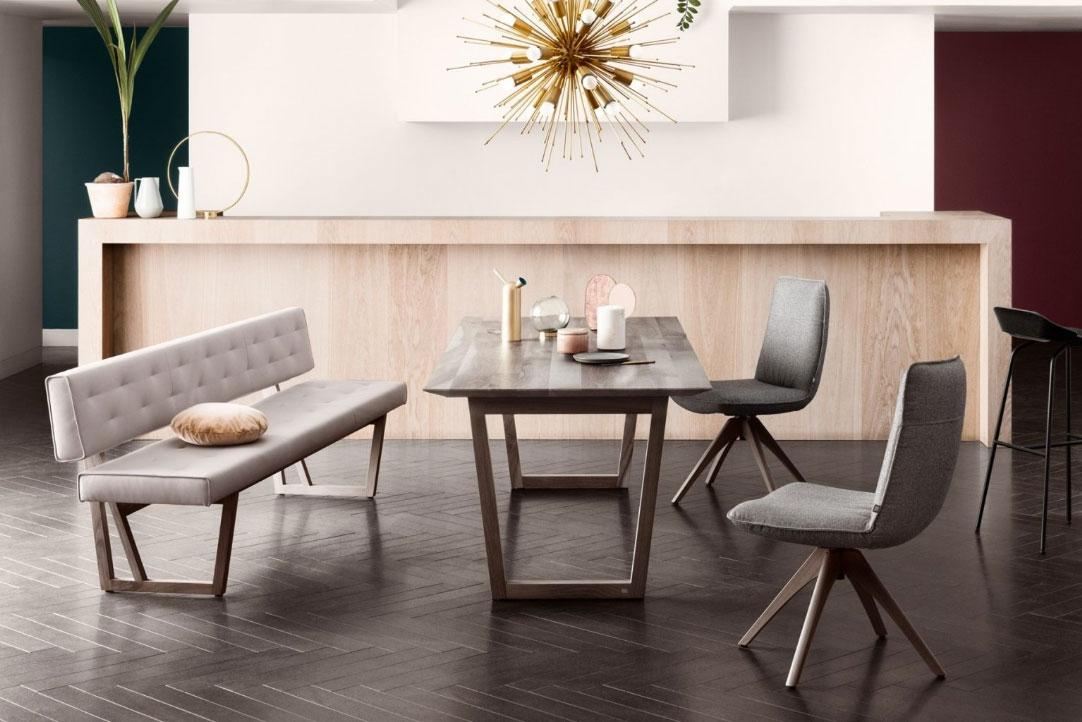 Rolf Benz eethoek stoelen | Hoogebeen Interieur