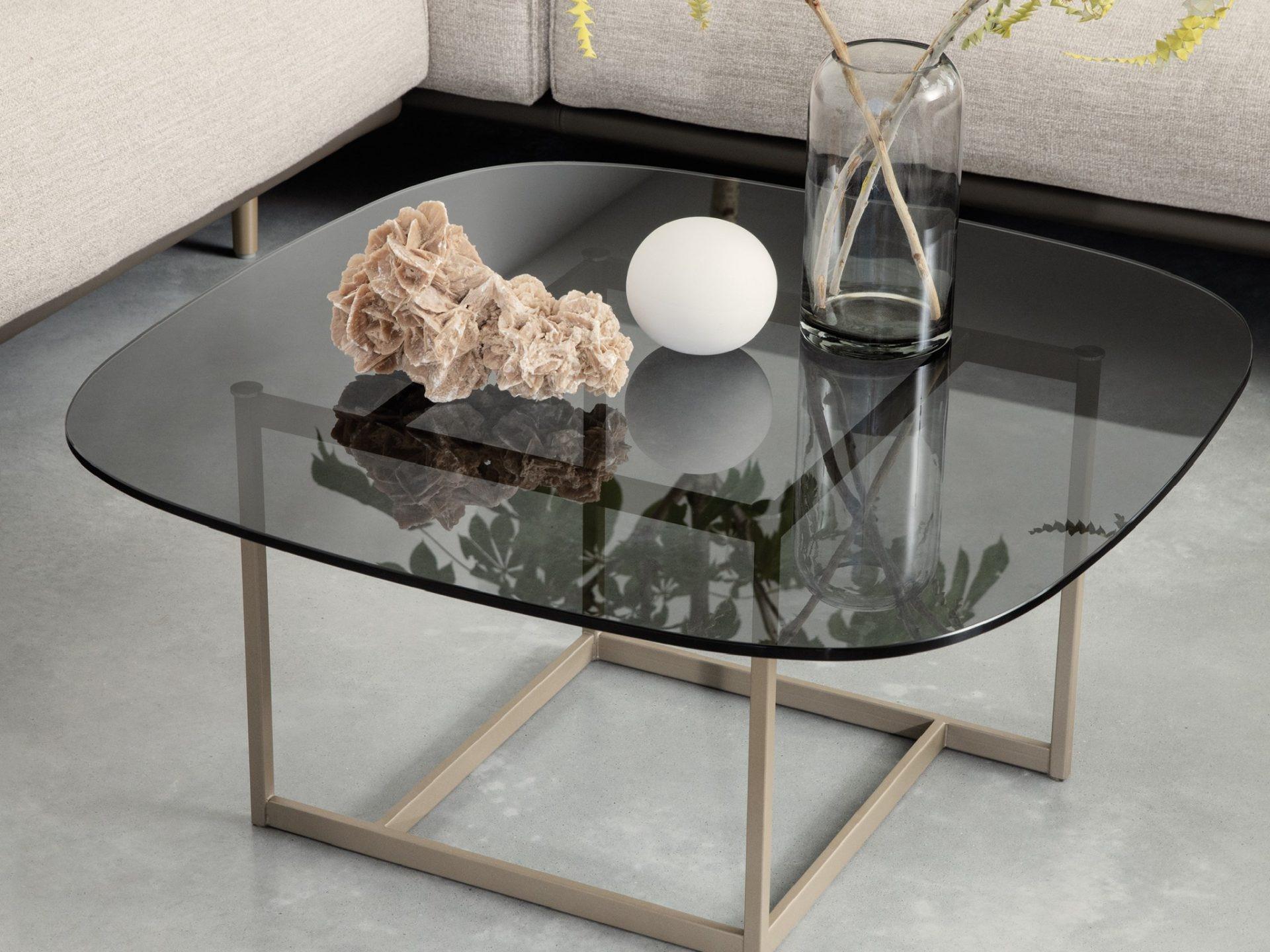 Rolf Benz glazen salontafel 932