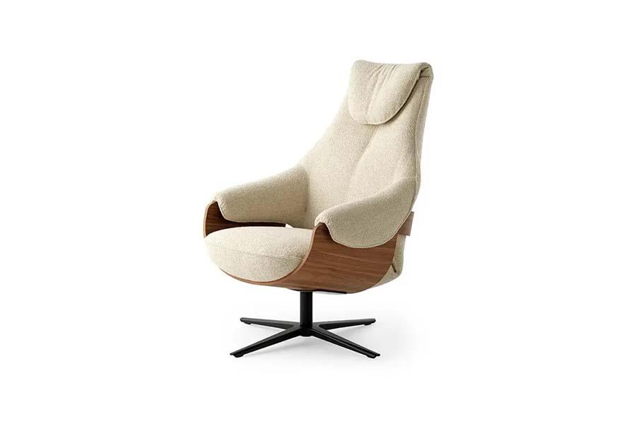 Leolux Cream relaxfauteuil | Hoogebeen Interieur